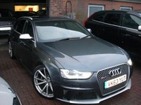 USED 2013 63 AUDI A4 4.2 RS4 AVANT FSI QUATTRO 5d 444 BHP ANY PART EXCHANGE WELCOME, COUNTRY WIDE DELIVERY ARRANGED, HUGE SPEC