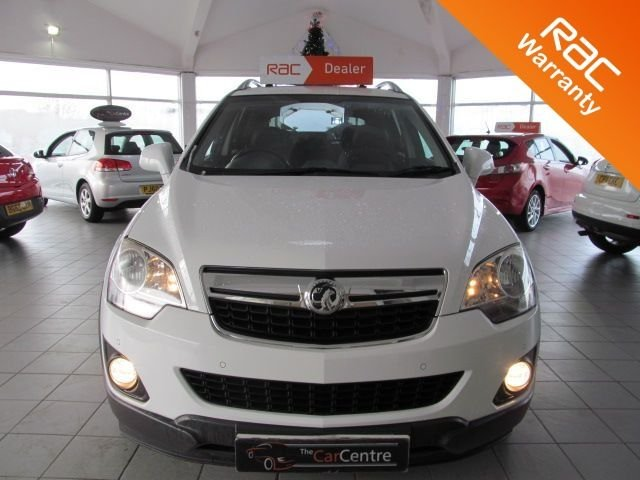2012 62 VAUXHALL ANTARA 2.2 EXCLUSIV CDTI 4WD 5d 161 BHP