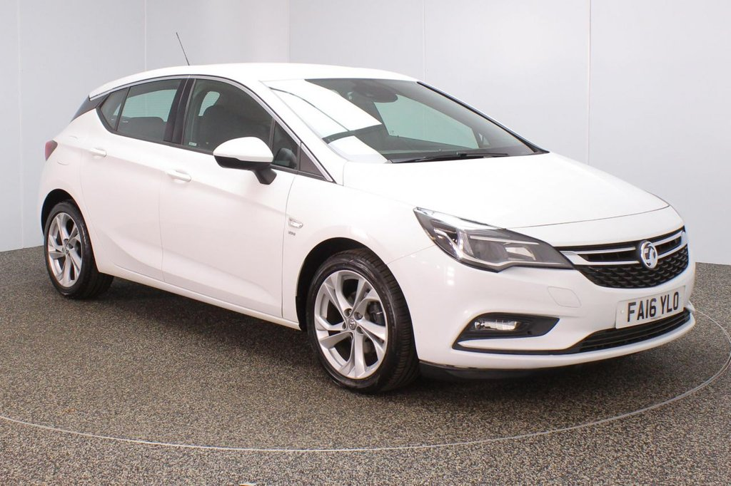 USED 2016 16 VAUXHALL ASTRA 1.6 SRI CDTI ECOFLEX S/S 5DR 108 BHP FULL SERVICE HISTORY + FREE 12 MONTHS ROAD TAX + BLUETOOTH + CRUISE CONTROL + MULTI FUNCTION WHEEL + DAB RADIO + AIR CONDITIONING + RADIO/CD/USB + XENON HEADLIGHTS + ELECTRIC WINDOWS + ELECTRIC MIRRORS + 17 INCH ALLOY WHEELS
