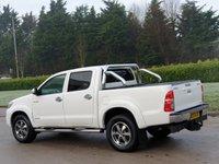 USED 2013 13 TOYOTA HI-LUX 3.0 INVINCIBLE 4X4 D-4D DCB 169 BHP