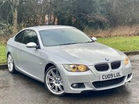 USED 2009 09 BMW 3 SERIES 3.0 335D M SPORT 2d 350 BHP FULL HEATED LEATHER INTERIOR, PRO SAT NAV