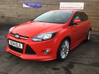 USED 2014 14 FORD FOCUS 1.0 ZETEC S S/S 5d 124 BHP