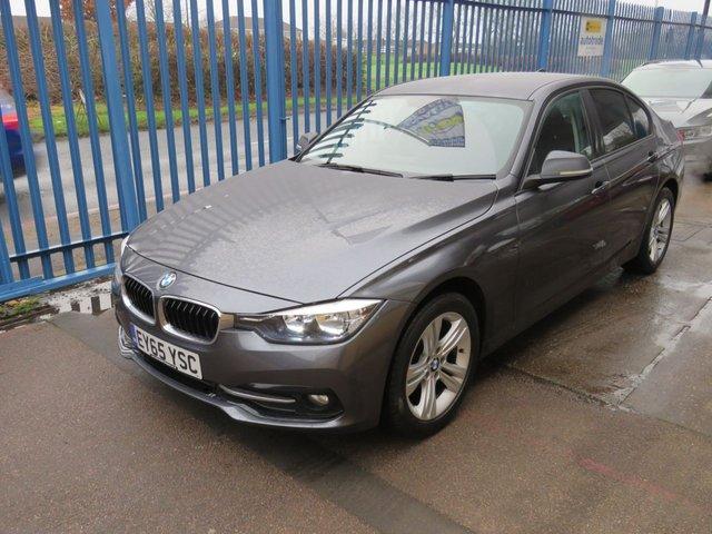 USED 2015 65 BMW 3 SERIES 2.0 316D SPORT 4d 114 BHP £20 Road Tax,Great Economy & Full Colour Sat Nav