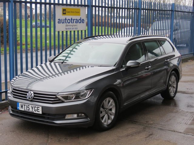 USED 2015 15 VOLKSWAGEN PASSAT 1.6 S TDI BLUEMOTION TECHNOLOGY Estate Sat nav DAB Roof rails Bluetooth Alloys Finance arranged Part exchange available Open 7 days