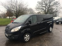 USED 2017 17 FORD TOURNEO CUSTOM 2.0 310 TITANIUM TDCI 5d 129 BHP