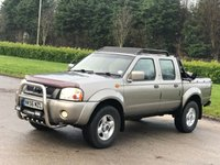 2007 NISSAN NAVARA 3.0 PICK UP 4d 150 BHP £3950.00