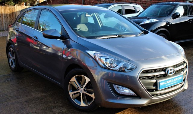 USED 2015 15 HYUNDAI I30 1.4 SE 5d 99 BHP **** PARKING SENSORS ( REAR ) * BLUETOOTH * AIR CON * CRUISE CONTROL ****