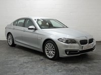 USED 2015 15 BMW 5 SERIES 3.0 530D LUXURY 4d 255 BHP XL NAV + BMW HISTORY + REVERSE CAMERA + 1 OWNER