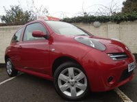 2006 NISSAN MICRA 1.2 ACTIV LIMITED EDITION RED 3d 80 BHP £2199.00