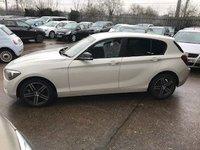 2014 BMW 1 SERIES 1.6 116I SPORT 5d 135 BHP £10499.00