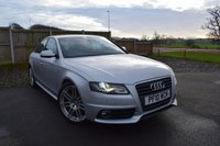 USED 2010 10 AUDI A4 2.0 TDI S LINE SPECIAL EDITION 4d 141 BHP