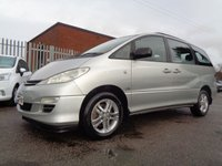 USED 2003 03 TOYOTA PREVIA 2.0 T3 D-4D 8STR 5d 114 BHP ONE OWNER FROM NEW
