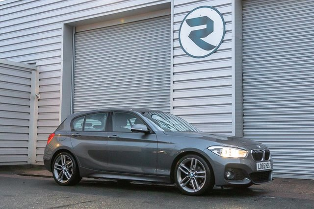USED 2016 65 BMW 1 SERIES 2.0 118D M SPORT 5DR