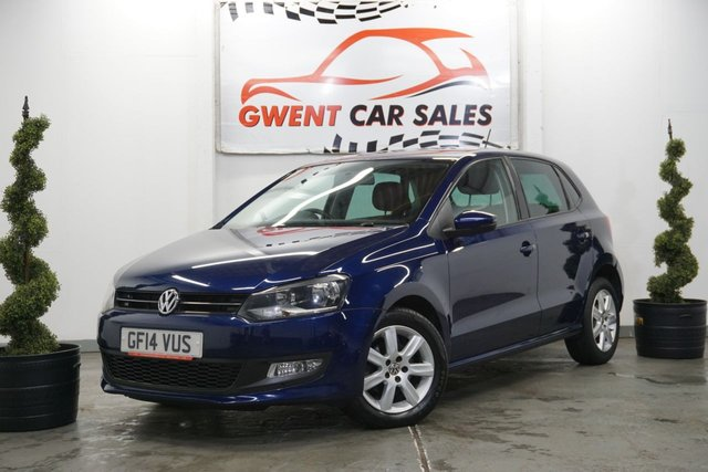 USED 2014 14 VOLKSWAGEN POLO 1.2 MATCH EDITION 5d 69 BHP DRIVES SUPERB, GREAT EXAMPLE