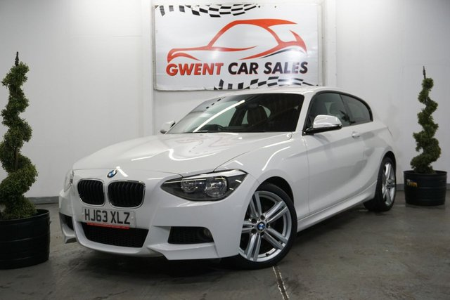 USED 2013 63 BMW 1 SERIES 2.0 118D M SPORT 3d 141 BHP CLEAN EXAMPLE,, GREAT DRIVE, CRUISE