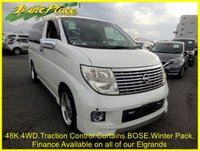USED 2005 54 NISSAN ELGRAND X 3.5 4WD Auto Heated Leather 8 Seats ++FINANCE AT www.vineplace.co.uk++