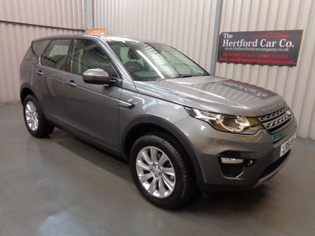 2016 16 LAND ROVER DISCOVERY SPORT 2.0 TD4 SE 5d 180 BHP