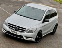 USED 2013 13 MERCEDES-BENZ B CLASS 1.8 B200 CDI BlueEFFICIENCY Sport 7G-DCT (s/s) 5dr PRIVACY! BLACK PACK! SAT NAV!