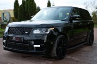 USED 2017 17 LAND ROVER RANGE ROVER 3.0 TD V6 Vogue SE Auto 4WD (s/s) 5dr PAN ROOF+REAR DVD+SVO KIT