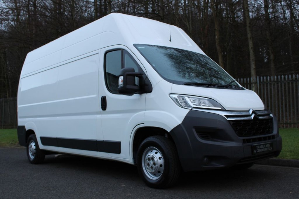 USED 2016 16 CITROEN RELAY 2.2 35 L3H3 HDI 129 BHP A TIDY LOW OWNER VAN WITH NO VAT TO BE ADDED!!!