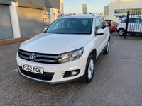 USED 2012 62 VOLKSWAGEN TIGUAN 2.0 SE TDI BLUEMOTION TECHNOLOGY 4MOTION 5d 138 BHP SERVICE HISTORY-DAB RADIO-DIESEL-BLUETOOTH-ALLOY WHEELS-FRONT AND REAR PARKING SENSORS