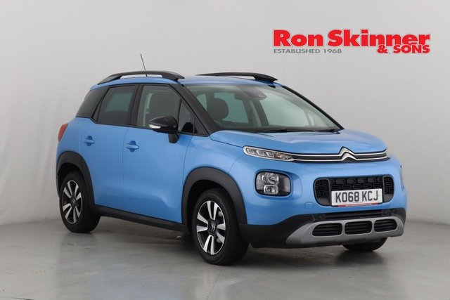 View our 2019 68 CITROEN C3 AIRCROSS 1.2 PURETECH FEEL 5d 82 BHP