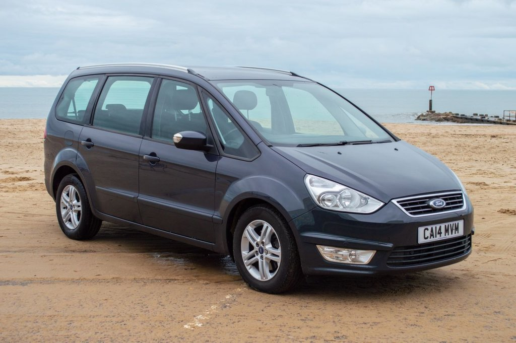 USED 2014 14 FORD GALAXY 2.0 ZETEC TDCI 5d 138 BHP Full Dealer History - 1 Owner