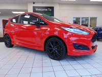 2014 FORD FIESTA 1.0 ZETEC S RED EDITION 3d 139 BHP £6995.00