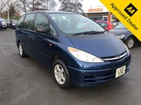 2007 TOYOTA ESTIMA 2.4 2.4 5d IN METALLIC BLUE WITH GREAT SERVICE HISTORY AND A GREAT SPEC INCLUDING 7 GREY LEATHER SEATS. THIS IS A TRADE CLEARANCE CAR £1499.00