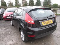 USED 2012 12 FORD FIESTA 1.4 ZETEC TDCI 5d 69 BHP LOW TAX EXCELLENT MPG