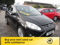 USED 2011 61 FORD C-MAX 1.6 TITANIUM TDCI 5d 114 BHP LOW ROAD TAX £30 SERVICE HISTORY