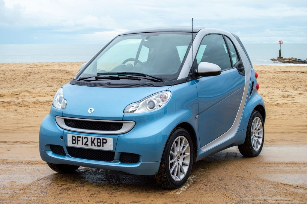USED 2012 12 SMART FORTWO 1.0 PASSION MHD 2d 71 BHP Power Steering, Low Mileage