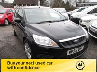 USED 2009 59 FORD FOCUS 1.6 STYLE 5d 100 BHP FULL SERVICE HISTORY AIRCON CD ELECTRIC PACK