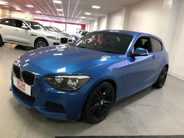 2013 63 BMW 1 SERIES 2.0 116D M SPORT 3d 114 BHP