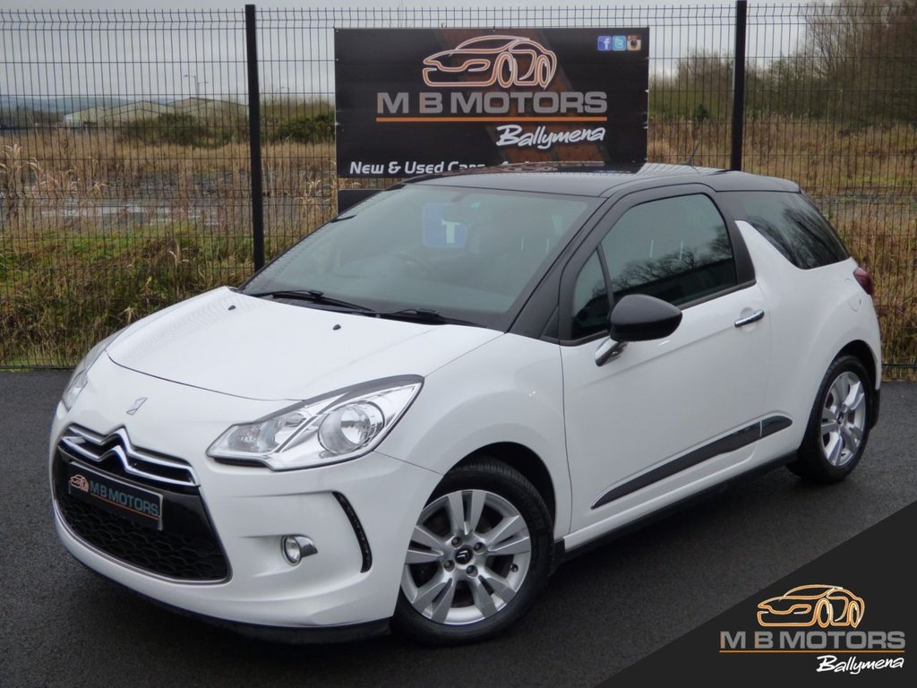 USED 2013 CITROEN DS3 DSTYLE 1.6 E-HDI 3d 90 BHP