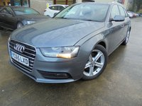 USED 2015 65 AUDI A4 2.0 AVANT TDI ULTRA SE TECHNIK 5d 161 BHP FSH, One Owner, Excellent Condition, No Deposit No Fee Finance Available