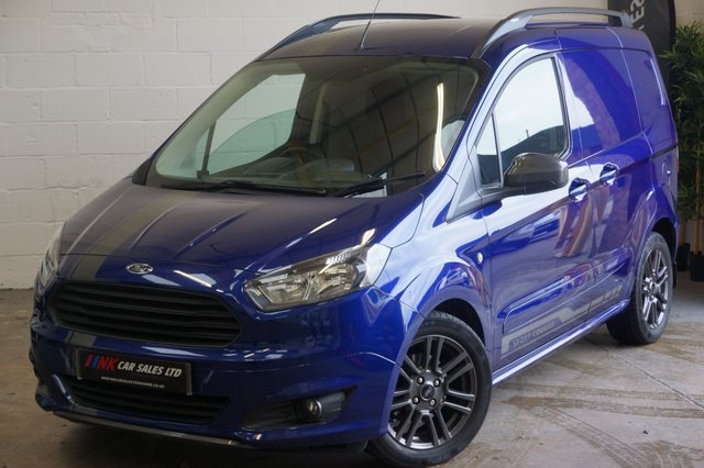2017 67 FORD TRANSIT COURIER 1.5 SPORT TDCI 94 BHP NO VAT SOLD TO  KEVIN FROM WAKEFIELD
