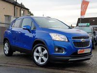 USED 2014 14 CHEVROLET TRAX 1.4 LT AWD 5d 138 BHP PLEASE CALL IF YOU CANT SEE WHAT YOU ARE AFTER . WE WILL CHECK OUR OTHER BRANCHES FOR YOU . WE HAVE OVER 100 CARS IN GROUP STOCK