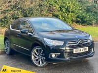 USED 2014 14 CITROEN DS4 2.0 HDI DSPORT 5d 161 BHP FULL HEATED LEATHER INTERIOR, SAT NAV