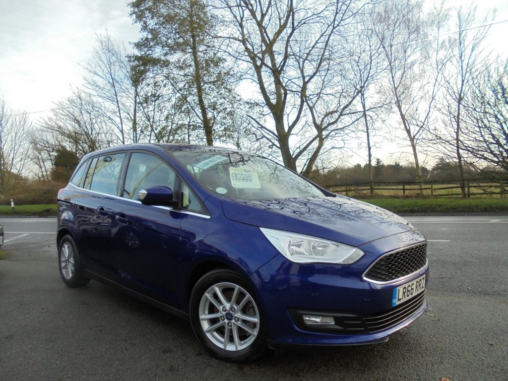 USED 2016 66 FORD GRAND C-MAX 1.5 ZETEC TDCI 5d 118 BHP