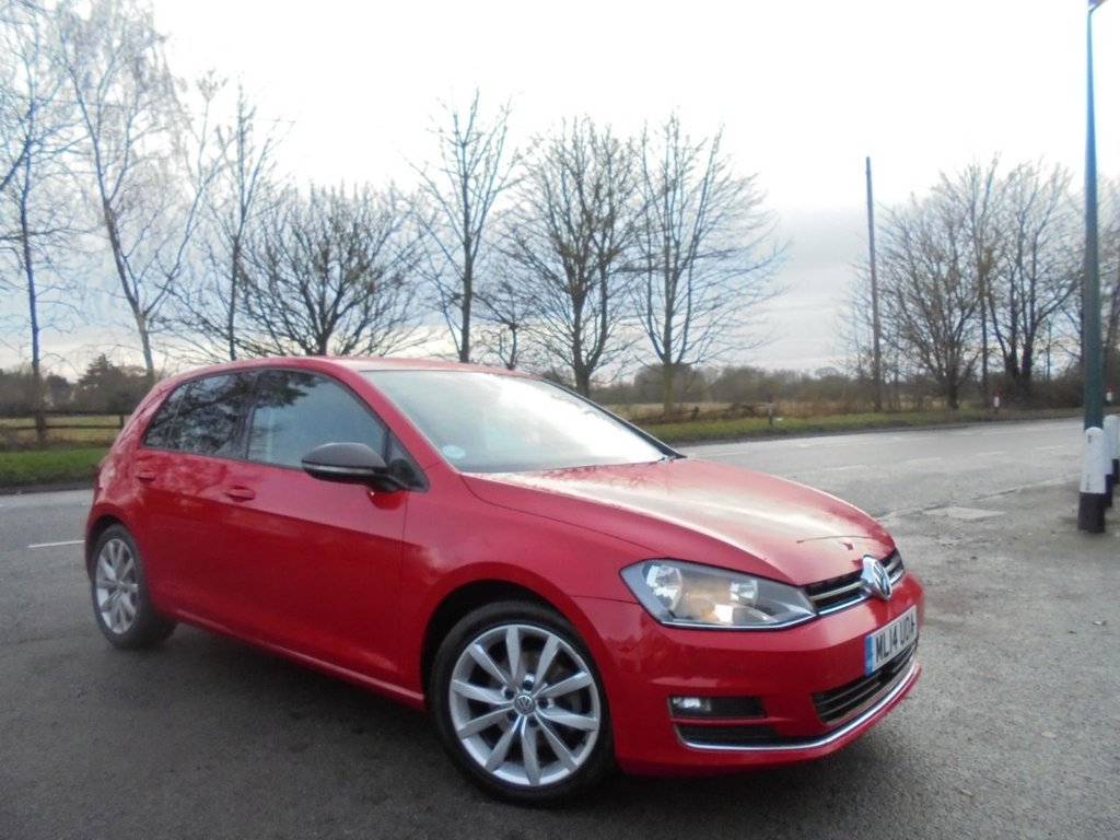 USED 2014 14 VOLKSWAGEN GOLF 1.4 GT TSI ACT BLUEMOTION TECHNOLOGY 5d 138 BHP