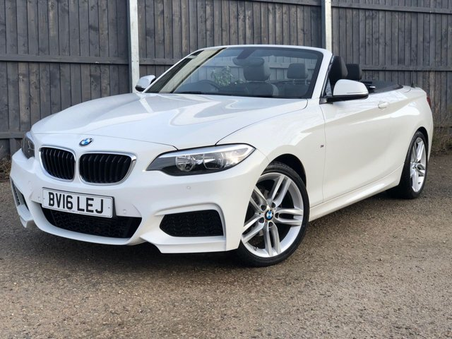 USED 2016 16 BMW 2 SERIES 1.5 218I M SPORT 2d 134 BHP 1 OWNER* AUTOMATIC LOW MILEAGE, MANY EXTRAS.FINANCE ME TODAY-UK DELIVERY POSSIBLE