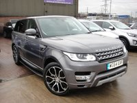 USED 2014 64 LAND ROVER RANGE ROVER SPORT 3.0 SDV6 HSE 5d 288 BHP ANY PART EXCHANGE WELCOME, COUNTRY WIDE DELIVERY ARRANGED, HUGE SPEC