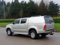 USED 2010 60 TOYOTA HI-LUX 2.5 HL3 4X4 D-4D DCB 142 BHP