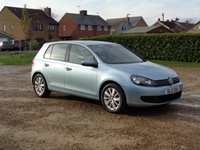 2012 VOLKSWAGEN GOLF 1.6 MATCH TDI BLUEMOTION TECHNOLOGY 5d 103 BHP £4999.00