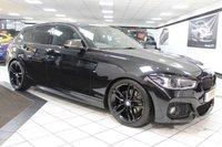 USED 2016 66 BMW 1 SERIES 125D M SPORT AUTO 221 BHP PRO NAV HEATED LEATHER FBMWSH!