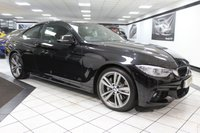 USED 2015 65 BMW 4 SERIES 435D XDRIVE M SPORT AUTO 309 BHP PRO NAV HEATED LEATHER 19'S