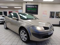 USED 2007 57 RENAULT MEGANE 1.5 PRIVILEGE DCI EMSE06 2d 106 BHP SERVICE HISTORY + DEC 2020 MOT + ALLOYS + CD RADIO + GREAT MPG + CENTRAL LOCKING + ELECTRIC WINDOWS + ELECTRIC CONVERTIBLE HARD TOP ROOF