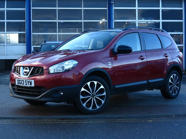 USED 2013 13 NISSAN QASHQAI+2 1.5 DCI 360 PLUS 2 5d 110 BHP 7 SEATER, FULL SERVICE HISTORY
