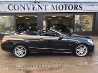 2011 MERCEDES-BENZ E CLASS 3.0 E350 CDI BLUEEFFICIENCY SPORT 2d 231 BHP £12490.00